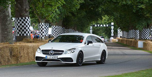 La nueva generación del Mercedes CLS, en el Festival de Goodwood