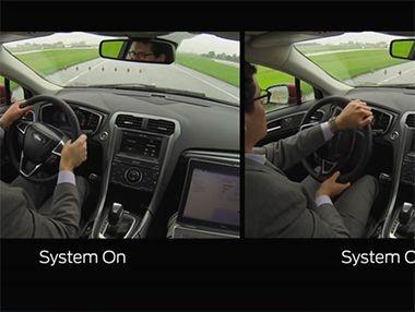 Así funciona la dirección adaptativa de Ford