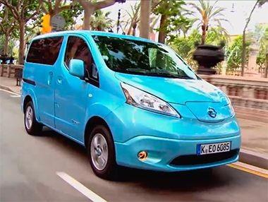 Vídeo presentación Nissan e-NV 200 Evalia 2014