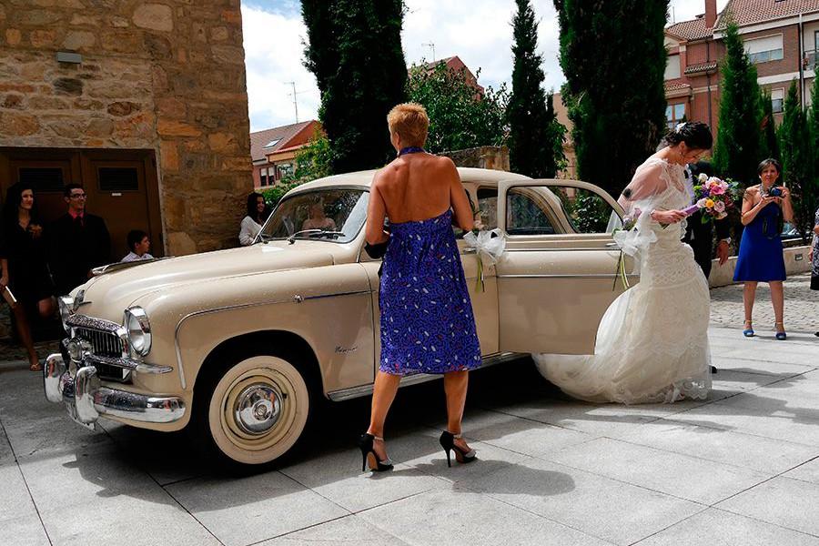 Coches para bodas, un clásico del verano