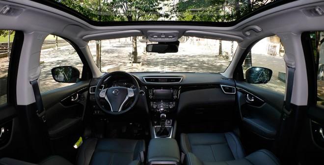 Prueba Nissan Qashqai 1.6 dci 130 CV 4x4 tekna 2014, interior, Rubén Fidalgo