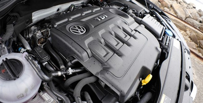 Prueba Volkswagen Golf Sportsvan 2.0 TDi 150 CV DSG BMT 2014, motor, Rubén Fidalgo