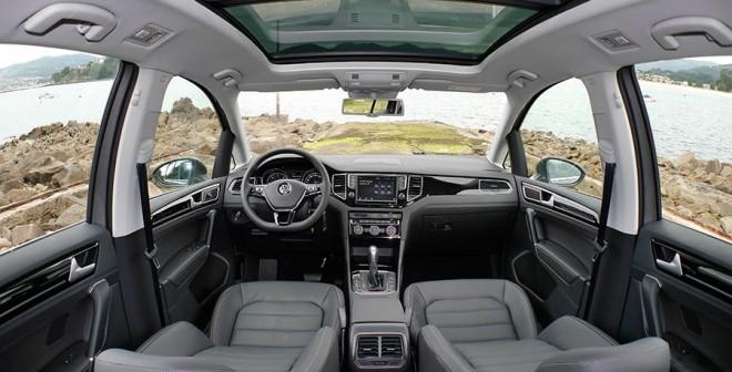Prueba Volkswagen Golf Sportsvan 2.0 TDi 150 CV DSG BMT 2014, interior, Rubén Fidalgo
