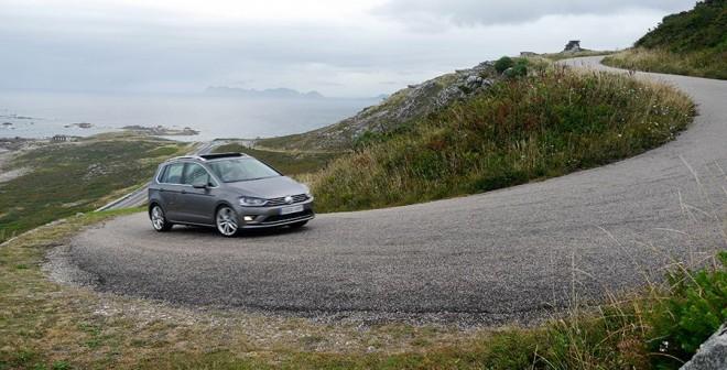 Prueba Volkswagen Golf Sportsvan 2.0 TDi 150 CV DSG BMT 2014, Baiona, Rubén Fidalgo