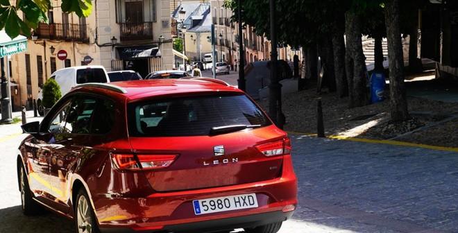 Prueba presentación Seat León ST 4Drive 2014, Segovia, Rubén Fidalgo