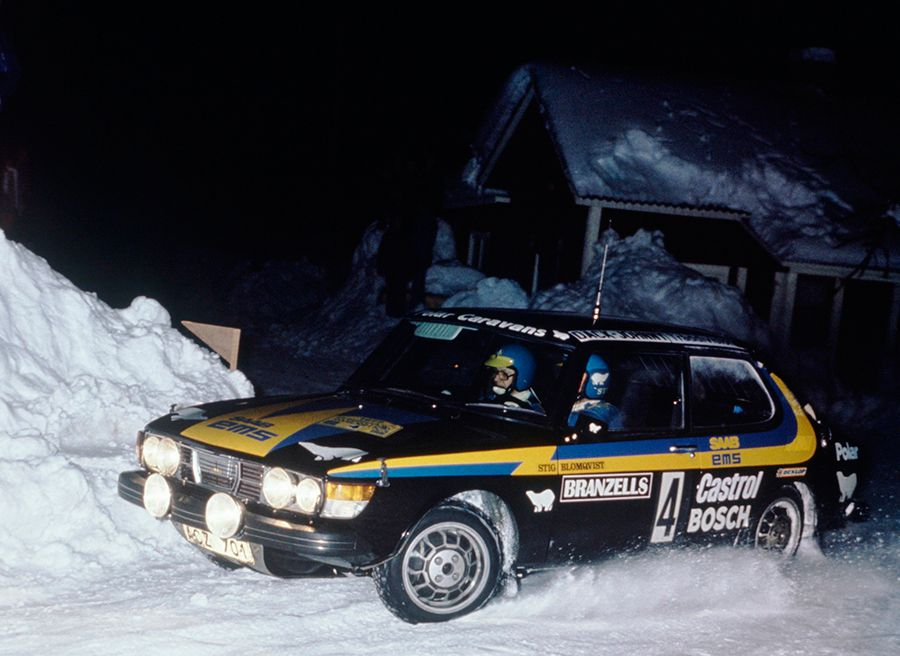 Saab 99 Turbo Stig