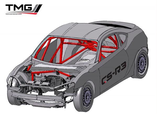 Toyota GT86 CS-R3 para Rallys