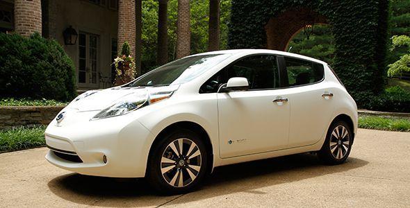 Nissan Leaf con nanopintura: el coche más limpio del mundo
