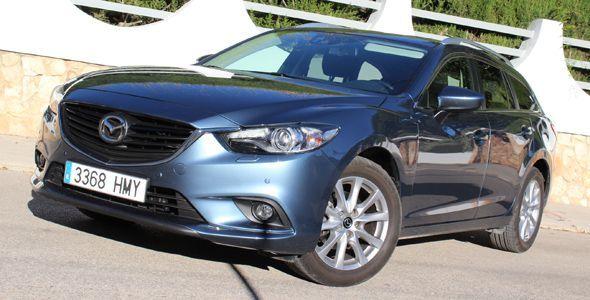 Prueba: Mazda6 Wagon SKYACTIV-G 2.0 145 CV Style 2013