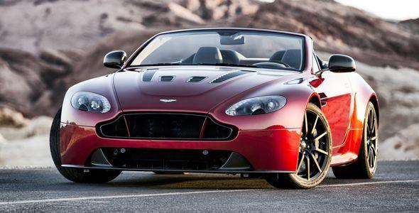 Aston Martin V12 Vantage S Roadster, llega en Pebble Beach