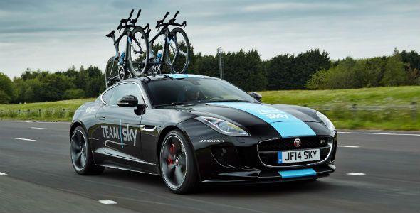 Jaguar F-Type, edición especial Team Sky