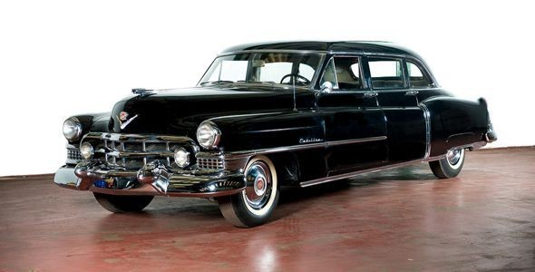 El Cadillac Limousine de Eva Perón, a subasta