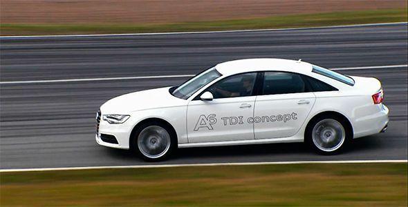 Nuevo Audi A6 TDi Concept, prestaciones deportivas y mínimo consumo