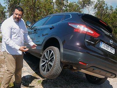 Vídeo prueba Nissan Qashqai 1.6 dCi 130 CV 4×4 Tekna 2014