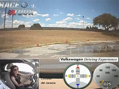 Volkswagen Race Tour 2014: recorrido sin ESP ni ABS
