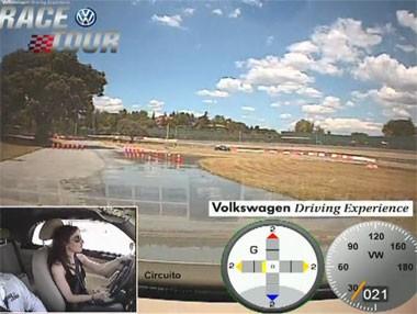 Volkswagen Race Tour: recorrido con ABS y ESP