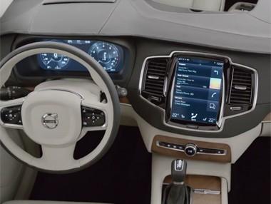 Volvo XC90 2015: el interior