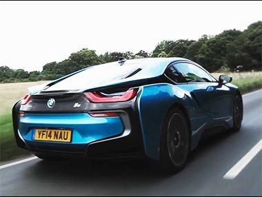 Así rueda el BMW i8