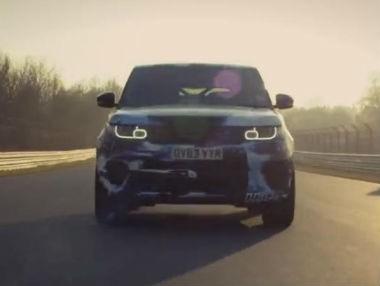 Vídeo: el Range Rover Sport SVR en Nürburgring