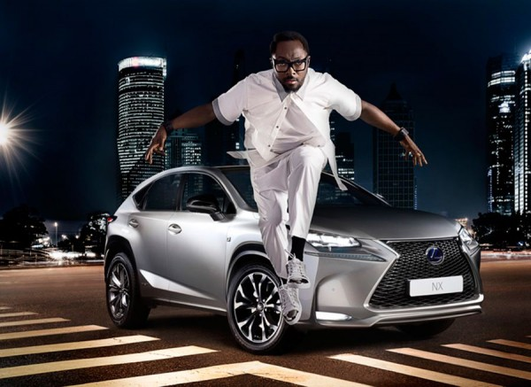 Lexus NX Will I Am design