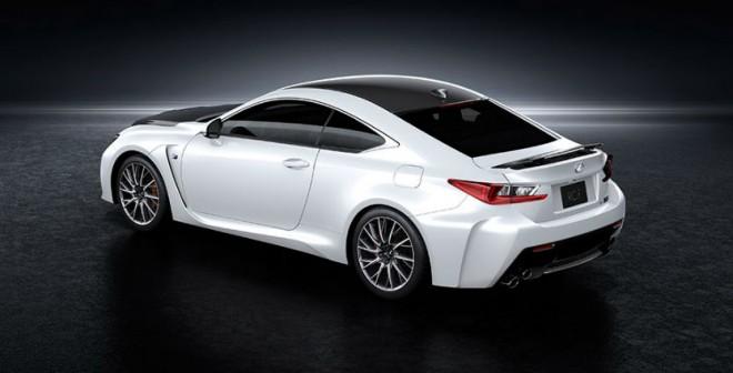 Las primeras entregas de este Lexus RC F Carbon Package tendrán lugar a finales de año.