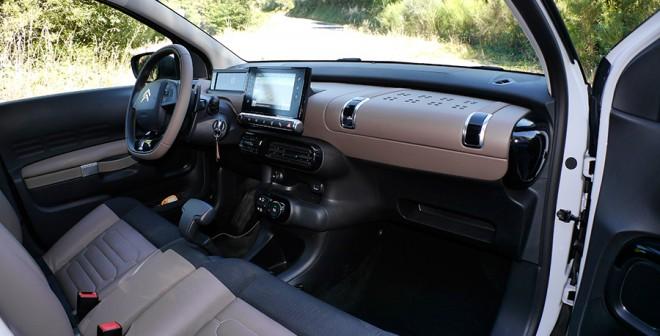 Prueba Citroën C4 Cactus HDi 92 CV ETG6, interior, Rubén Fidalgo