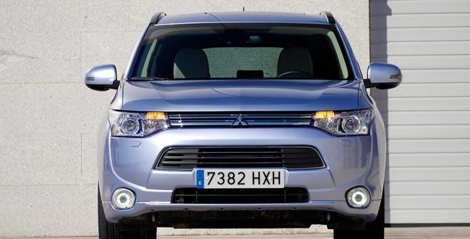 Prueba Mitsubishi Outlander PHEV, Vigo, Rubén Fidalgo
