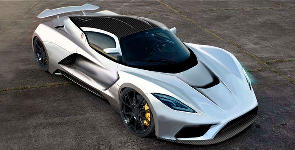 Hennessey Venom F5, el coche más rápido del mundo en 2015