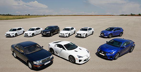25 aniversario de la marca Lexus