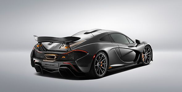 McLaren en Pebble Beach