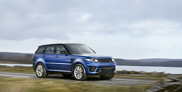 Nuevo Range Rover Sport SVR, el más rápido y potente