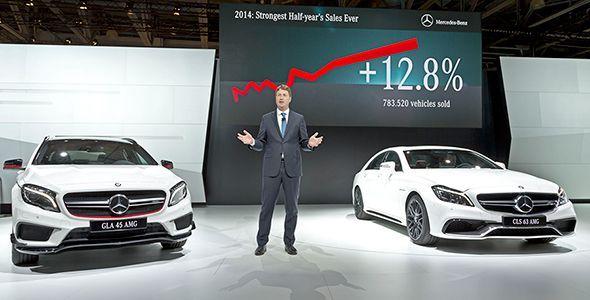 Las novedades de Mercedes-Benz en el Salón de Moscú 2014
