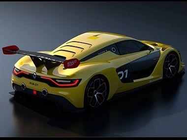El Renault Sport R.S.01, en movimiento