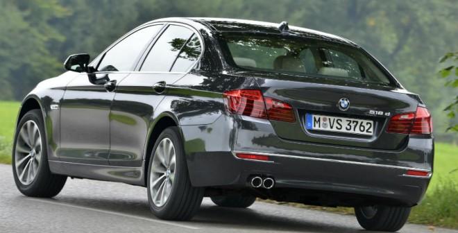 Más potencia y eficiencia para la Serie 5 de BMW.