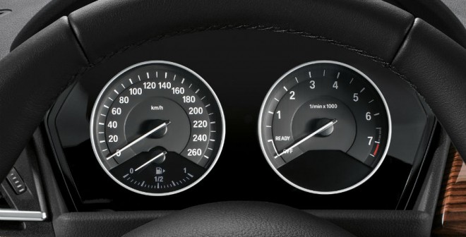 Cuadro de mandos del BMW Serie 2 Active Tourer.