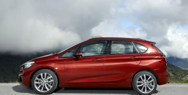 BMW quiere hacer del Serie 2 Active Tourer el coche ideal para las familias.