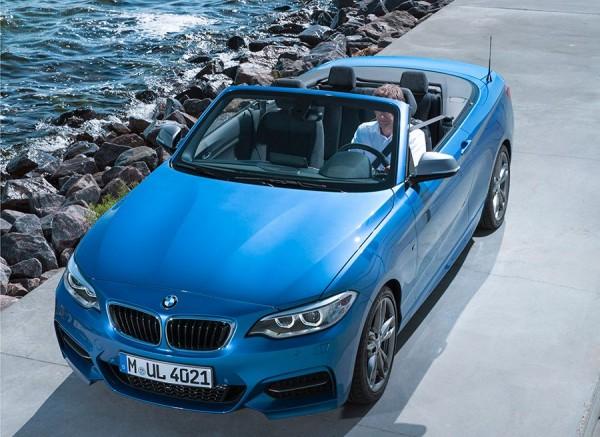 BMW serie 2 cabrio París 2014