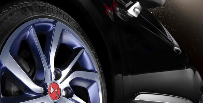 Las llantas de 17 pulgadas de estos concepts del DS3 y DS3 Cabrio son espectaculares.