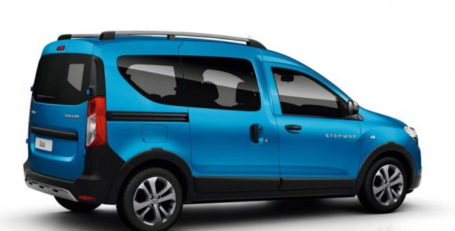 El Dacia Dokker Stepway presenta diversos cambios estéticos respecto a la versión convencional.
