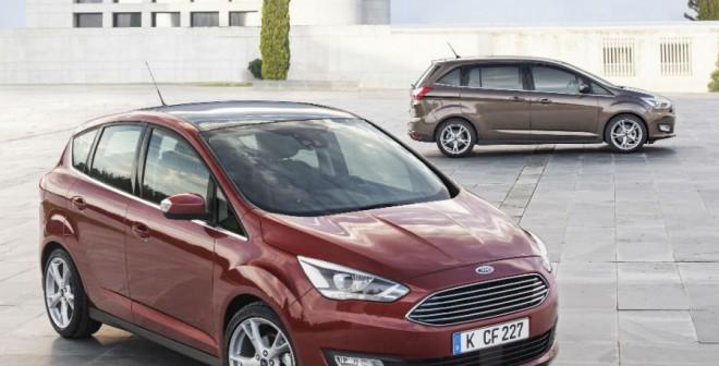 El nuevo Ford C-Max llega a los concesionarios españoles en 2015.