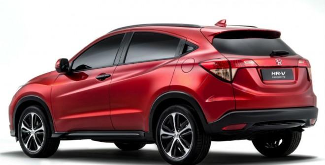 Honda ha buscado en todo momento asemejar el diseño del HR-V al de un coupé.