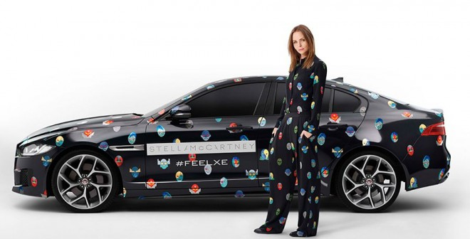 Jaguar XE Stella McCartney Feel XE Experience Paris 2014