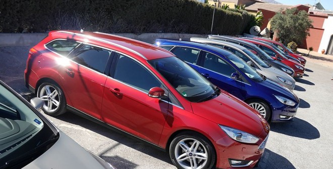 Presentación y prueba Ford Focus 2015, Málaga, Rubén Fidalgo