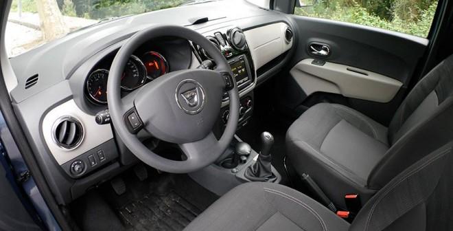 Prueba Dacia Lodgy GLP Laureate, interior, Rubén Fidalgo