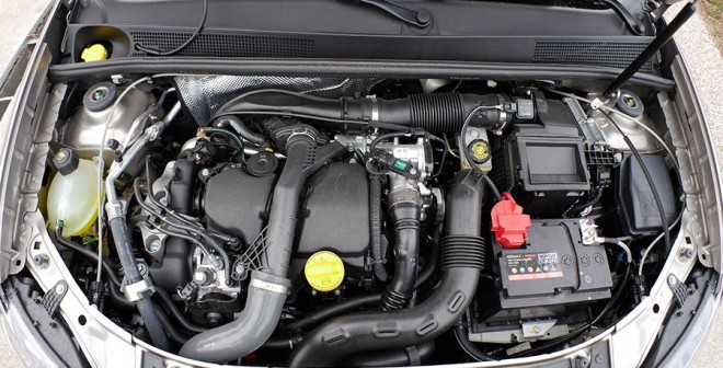 Prueba Dacia Logan MCV 1.5 dCi 90 CV 2014, motor, Rubén Fidalgo
