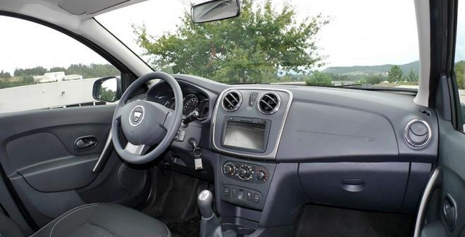 Prueba Dacia Logan MCV 1.5 dCi 90 CV 2014, interior, Rubén Fidalgo