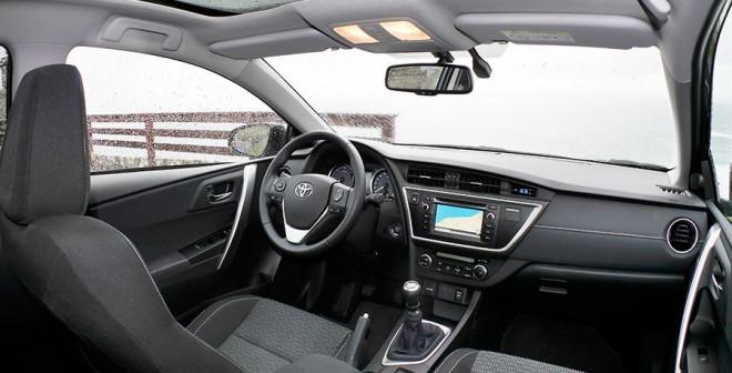Prueba Toyota Auris 120d, interior, Rubén Fidalgo