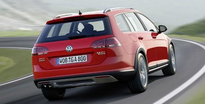 El Volkswagen Golf Alltrack parte de la versión Variant.