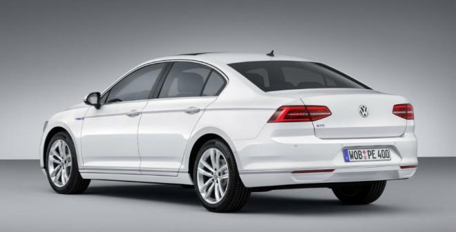 El Volkswagen Passat GTE tiene una potencia de 218 CV.