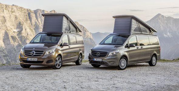 Mercedes Marco Polo y Marco Polo Activity, los precios